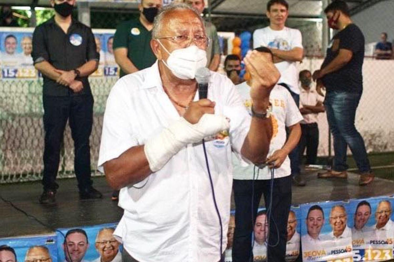 O prefeito eleito de Teresina, Dr. Pessoa (MDB)