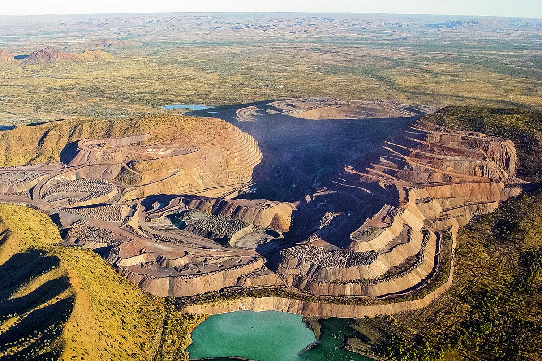 MINA ARGYLE, DA RIO TINTO -Maior do mundo: 865 milhões de quilates extraídos na Austrália continental -
