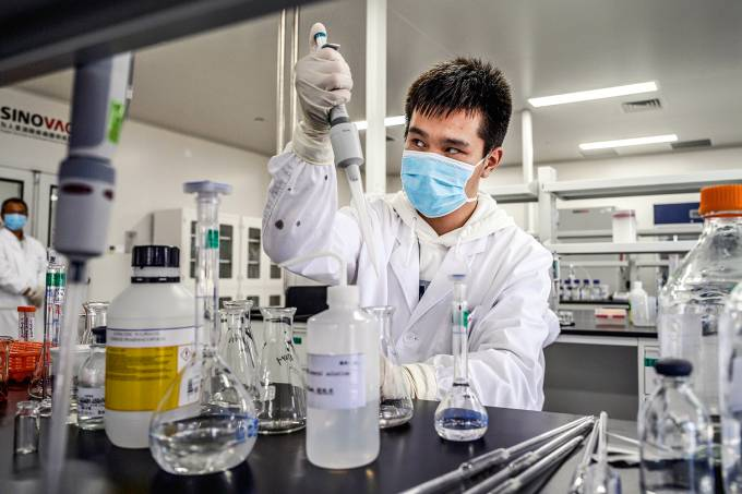 China's Sinovac Ramps Up Production Of Potential COVID-19 Vaccine