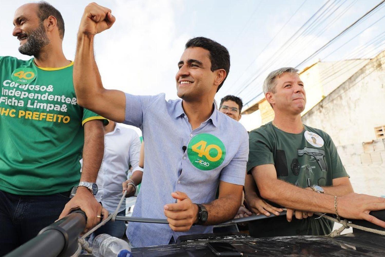 O prefeito eleito de Maceió, JHC (PSB)
