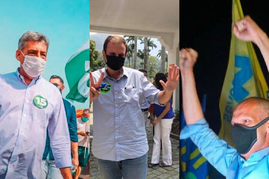 Os prefeitos eleitos de Porto Alegre, Rio de Janeiro e São Paulo