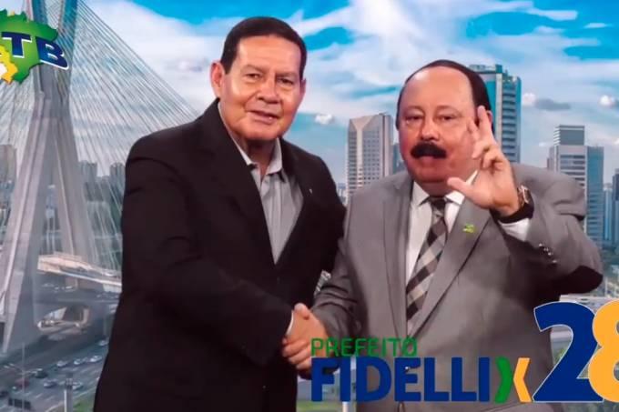 Hamilton Mourão e  Levy Fidelix
