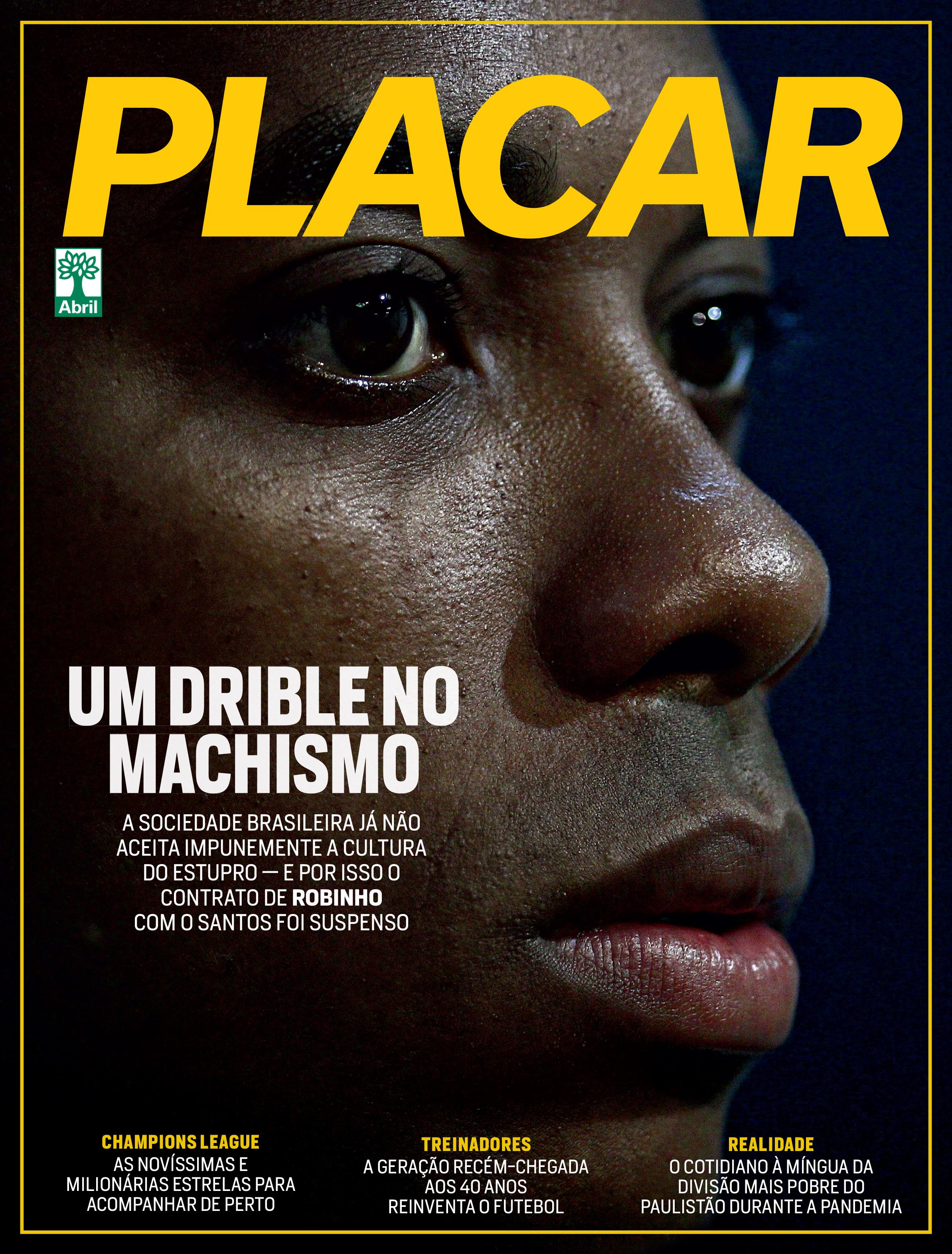 Capa da edição de novembro da Revista Placar -