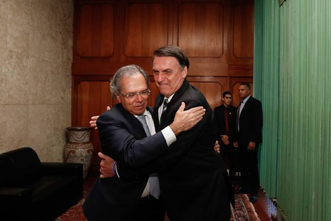 Paulo Guedes_Jair Bolsonaro