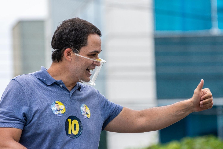 O prefeito eleito de Vitória, Delegado Pazolini (Republicanos)