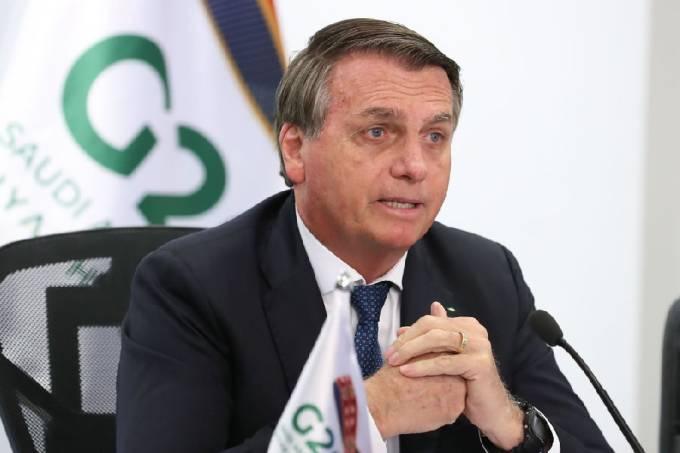 Bolsonaro discursa no G20
