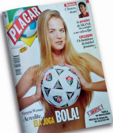 PLACAR de 1996 tinha Suzana Werner na capa