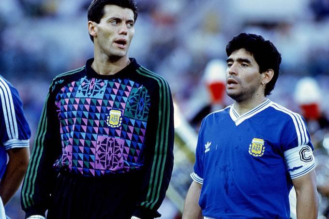 """""""Filhos da p… """" Maradona xingou italianos na final da Copa de 1990"""