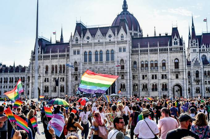 HUNGARY-GAY-PRIDE