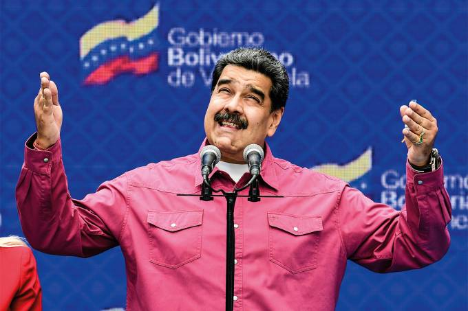 VENEZUELA-LEGISLATIVE-ELECTION-MADURO