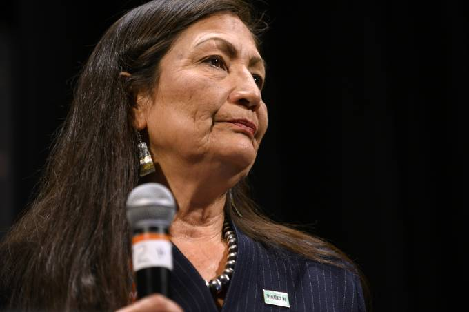Biden picks Deb Haaland as first Native American to run Interior Dept