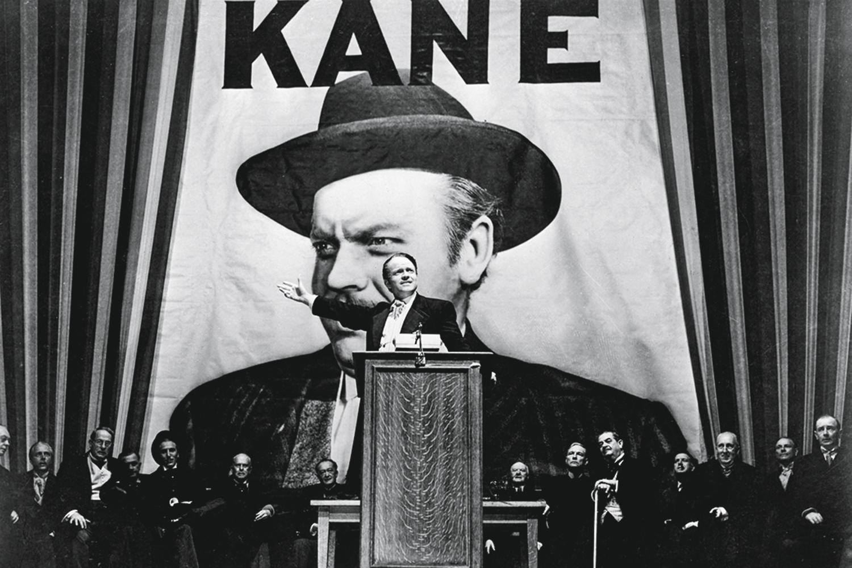 O ÍCONE- Orson Welles em Cidadão Kane: um só Oscar e autoria compartilhada -