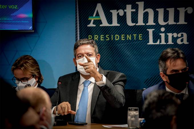 Deputado Arthur Lira Candidatura à presidência da Câmara dos Deputados