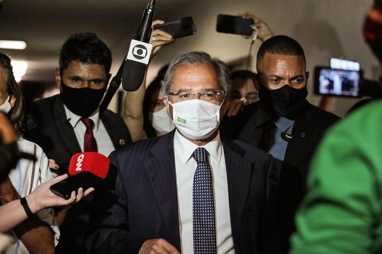 PRAGMATISMO - O ministro Paulo Guedes: pequenas vitórias em meio a um cenário de absoluta lentidão no Congresso -