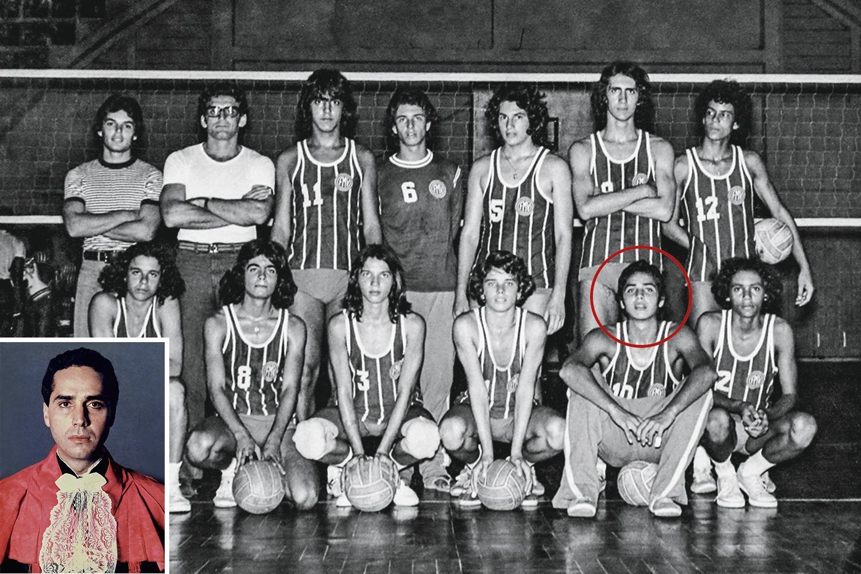MEMÓRIAS - cariocas Na seleção de vôlei do Rio e na formatura: ele se mostrou um craque fora do esporte -
