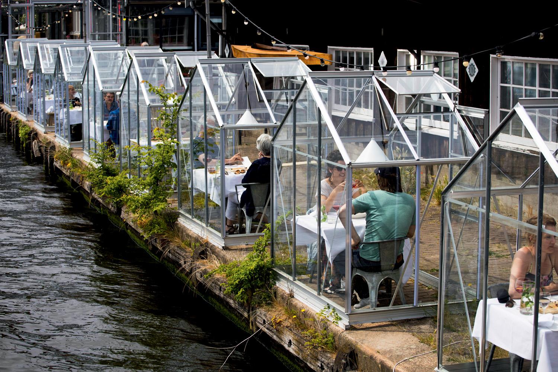 ESTUFAS - Ideia original: restaurantes com isolamento -