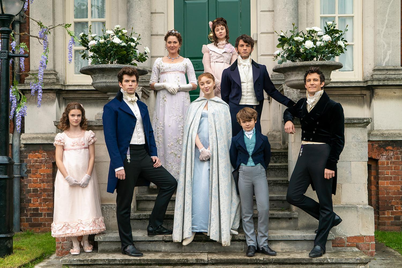 Família protagonista da série 'Bridgerton', da Netflix -