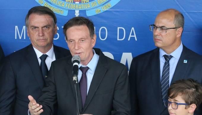 Bolsonaro, Crivella, Witzel