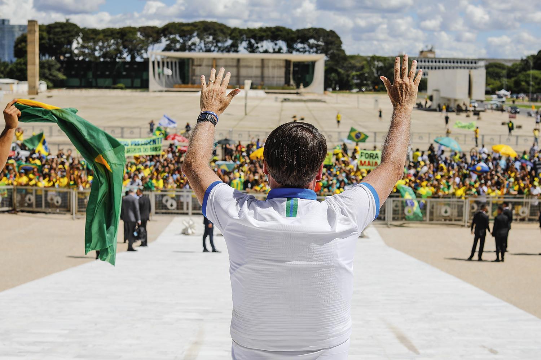 """HARMONIA -Sobre Bolsonaro: """"O presidente confia em mim e eu nele"""" -"""