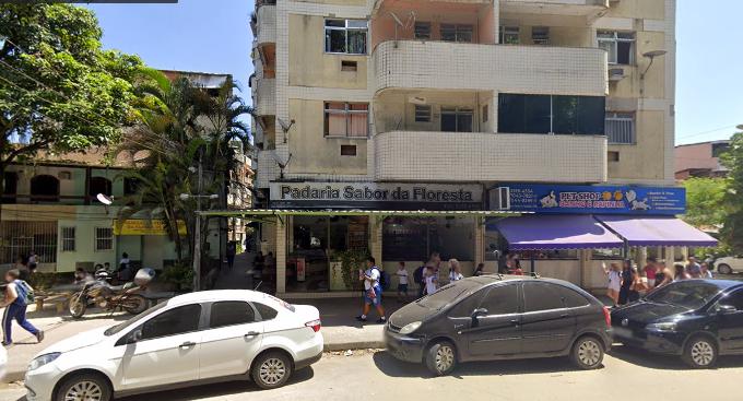 Estrada do Itanhangá, sede do Escritório do Crime