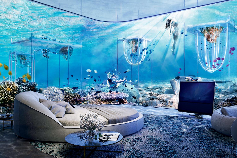 THE FLOATING VENICE- No Golfo: 180 cabines submarinas e três restaurantes remetem à Sereníssima -