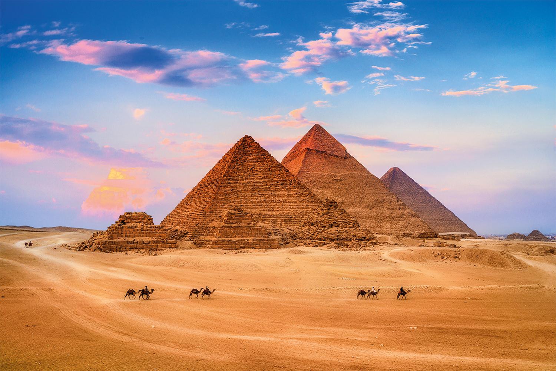 MAIS TRÂNSITO - Pirâmides do Egito: estradas para levar mais turistas -