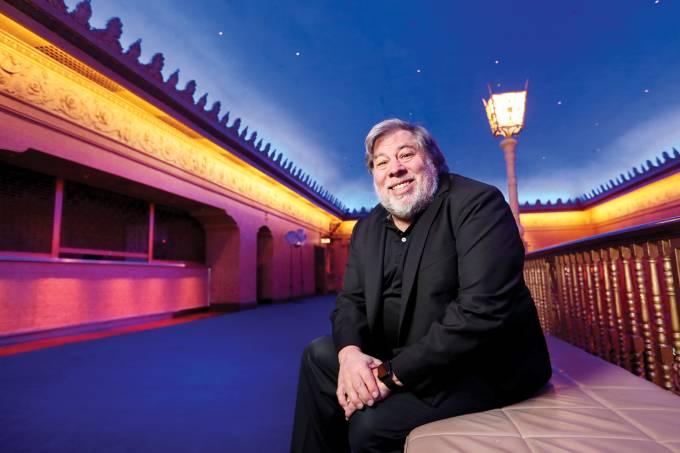 Steve Wozniak Melbourne Portrait Shoot