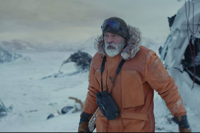 THE MIDNIGHT SKY (2020)George Clooney as Dr Augustine Lofthouse.
