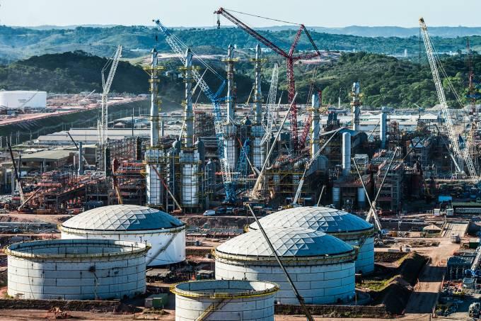 BRAZIL-PETROBRAS-OIL REFINERY