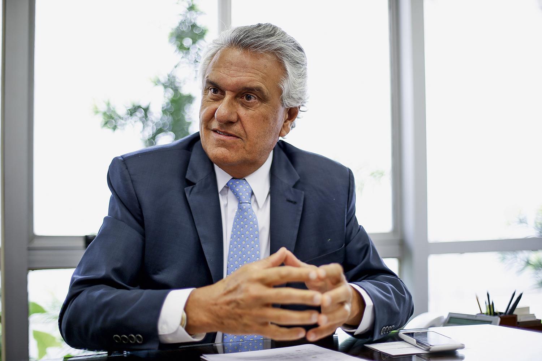INDIGNAÇÃO -Ronaldo Caiado (DEM), governador de Goiás: críticas duras em grupo de WhatsApp ao plano paulista -