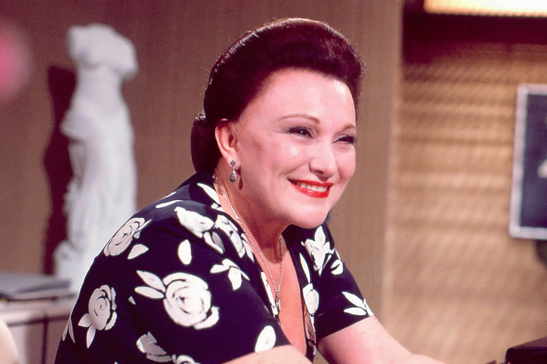 Nicette Bruno na novela Rainha da Sucata, de 1990