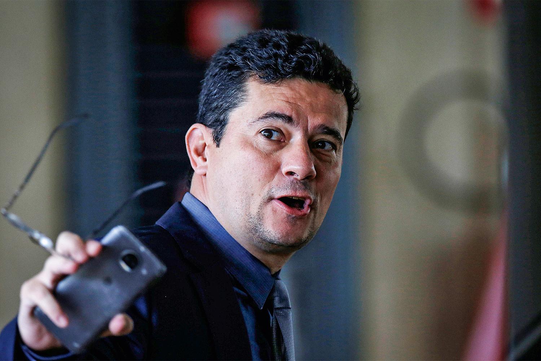 DESIDRATAÇÃO - Sergio Moro: em baixa após deixar o governo -