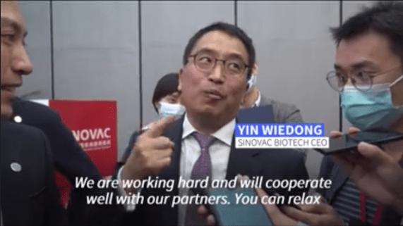 Yin Wiedong Sinovac
