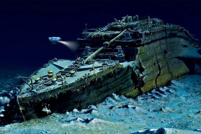 TITANIC-FUNDO DO MAR-CAPSULA TITAN-1
