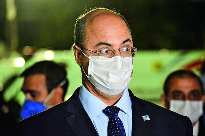 HOSPITAL DE CAMPANHA DO MARACANA NO RJ