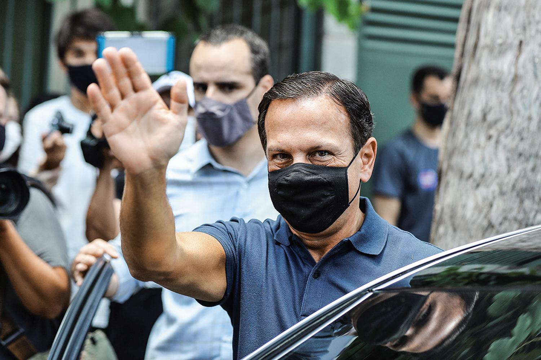 ALVO -Doria: o governador teria pedido ao ministro que deixasse o cargo -