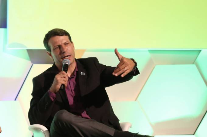 Leonardo Gaciba, presidente da Comissão de Arbitragem da CBF