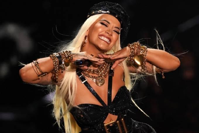 A cantora Rita Ora