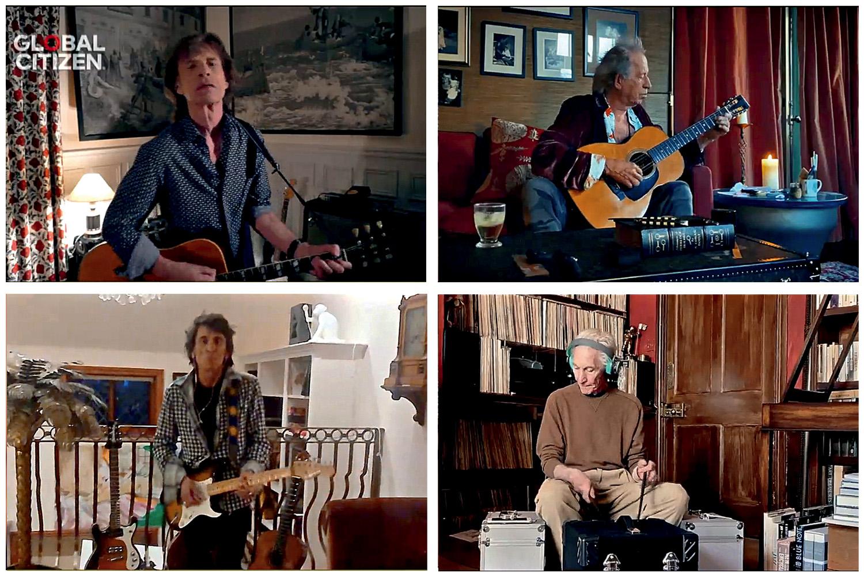 AO VIVO - Rolling Stones: multiplicação de lives pelo mundo -
