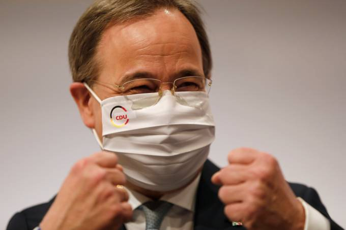 GERMANY-POLITICS-PARTIES-CDU-CONGRESS