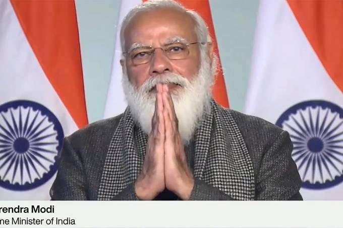SWITZERLAND-INDIA-WEF-ECONOMY-POLITICS-DIPLOMACY