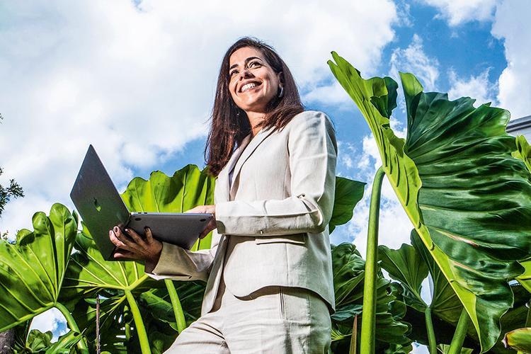 Adriana Aroulho, presidente da SAP -