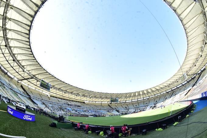 Maracanã na final da Libertadores