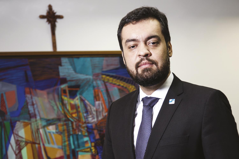 """Cláudio Castro, governador do Rio: """"Virei vice porque não tinha outro""""    VEJA"""