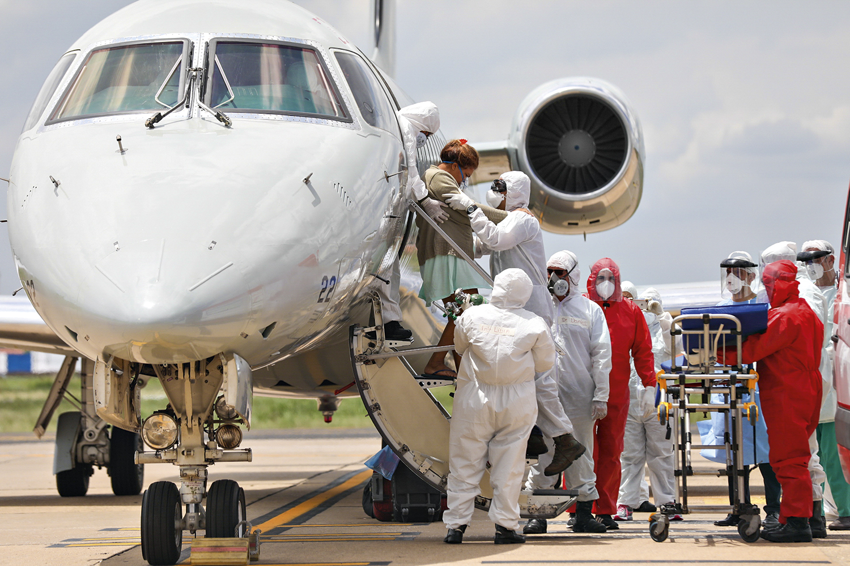 UTI AÉREA - Transporte de pacientes: outros estados receberam mais de 100 transferências do Amazonas -