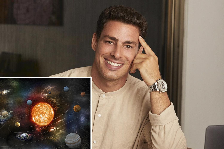INFINITO - O brasileiro Cauã Reymond: longa narração sobre os mecanismos do cosmo -