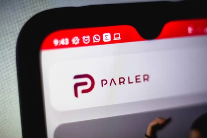 Rede social Parler