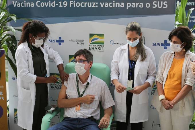 Oxford/AstraZeneca Vaccine Against the Coronavirus (COVID – 19) Arrives at Fiocruz