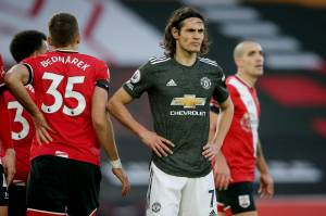 Edinson Cavani, atacante do Manchester United -