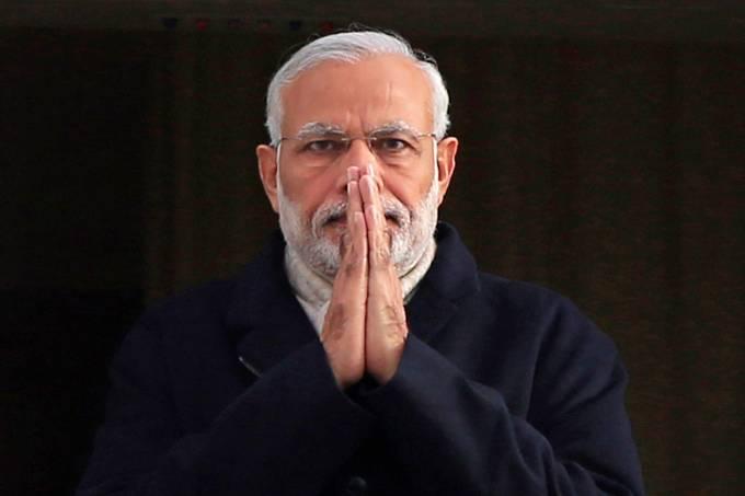 primeiro-ministro índia Narendra Modi